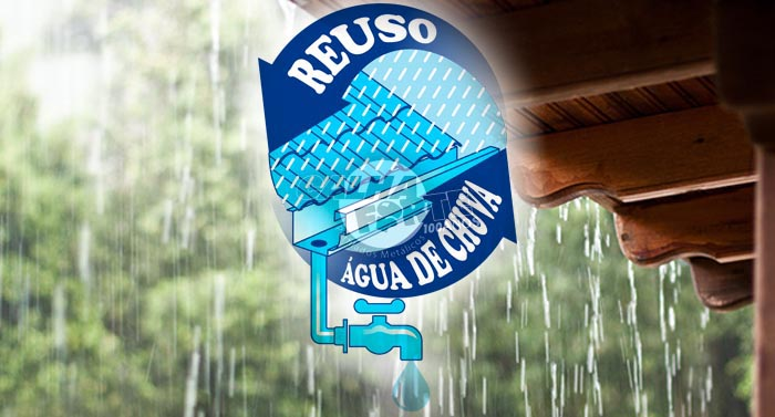 calha - reuso de água de chuva