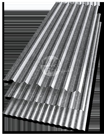 Telhas Metálicas Galvanizadas CalhaForte